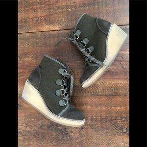 Wedge Booties size 8.5